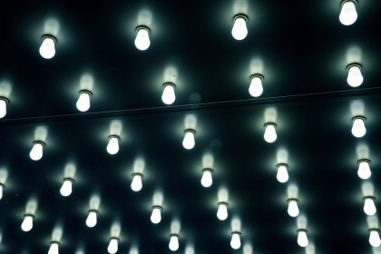 równomierne doświetlenie otwartych przestrzeni