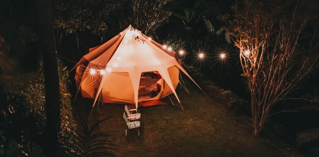 osvětlení altánů