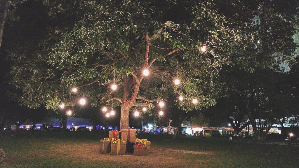osvětlení altánů a teras